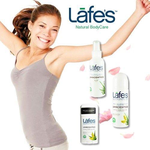 美國原裝進口【 Lafe's Organic 】純自然體香劑