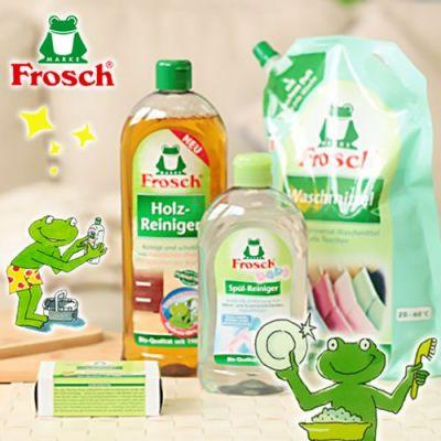 【德國 Frosch】家用清潔劑,溫和不刺激。輕鬆門檻買再送!