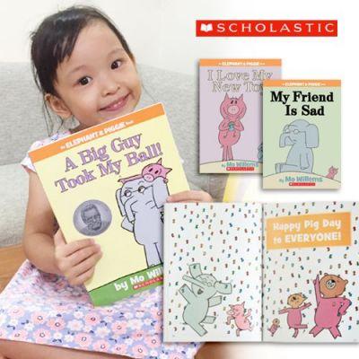Elephant and Piggie 系列英語童書♥