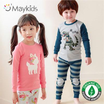 韓國 Maykids 有機棉長袖家居服&防踢被 ✭ 13Y大童也能穿