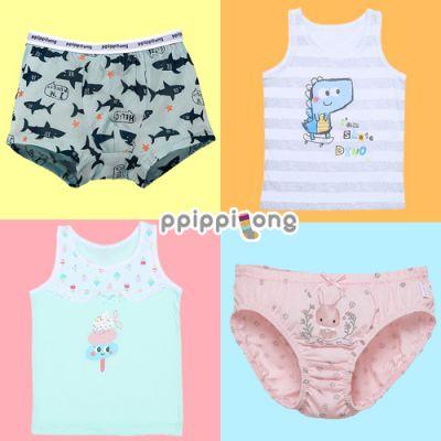 拒絕悶熱!韓國涼感降溫兒童內褲、內衣 ♥ 親膚舒適,透氣柔軟!