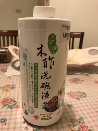 木酢達人 - 木酢濃縮洗碗液補充瓶-1000ml by Chienli Chen