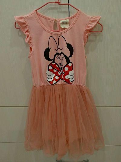 麗嬰房 Disney - 米妮系列甜心公主蓬紗洋裝-白色 by Amanda Hsiao