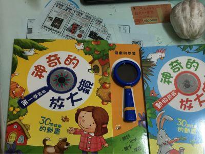 華碩文化 - 遊戲書-神奇放大鏡 -動物奇觀 by awen