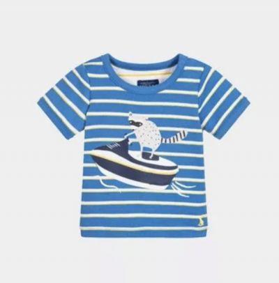 英國 JOULES - 短袖T恤-繽紛獨角獸 by (*☻-☻*) 蔣