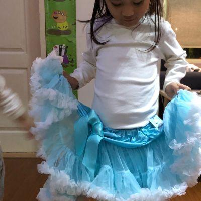 日安朵朵 - 女嬰童雪紡蓬蓬裙-薔薇公主 by Audrey Lin