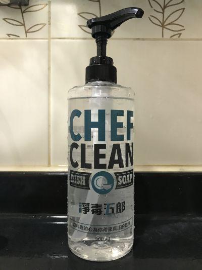 淨毒五郎 Chef Clean - 碗盤清潔劑-500mL by Eunice