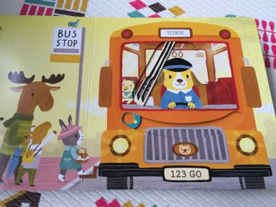 Nosy Crow - Sing Along With Me! 推拉搖轉書-The Wheels on the Bus by ZZZ
