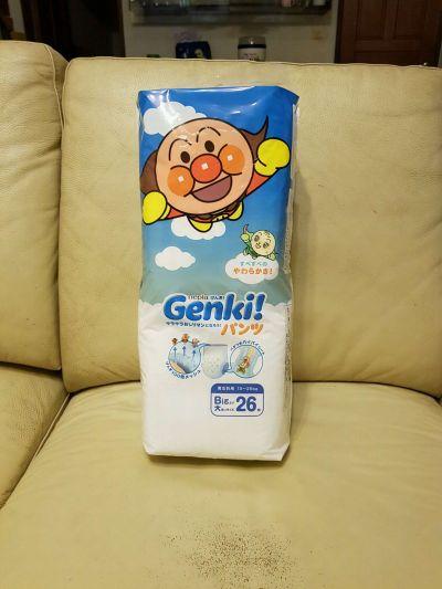 王子 Nepia - 日本境內限定Genki!麵包超人尿布-褲型 (L [9-14kg])-44片x3包/箱 by 董僅梅