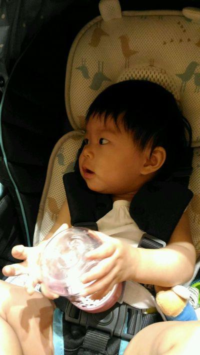 艾芭莎-3D頂級防護兩用幼童推車/安全座椅透氣墊-桃紅色-1片 by swegingin