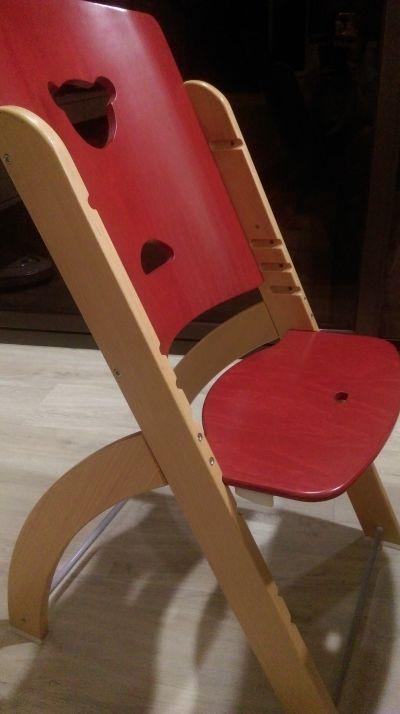 義大利 PALI - Pappy Re 熊寶寶成長餐椅-紅色-單椅 by ellenmummy