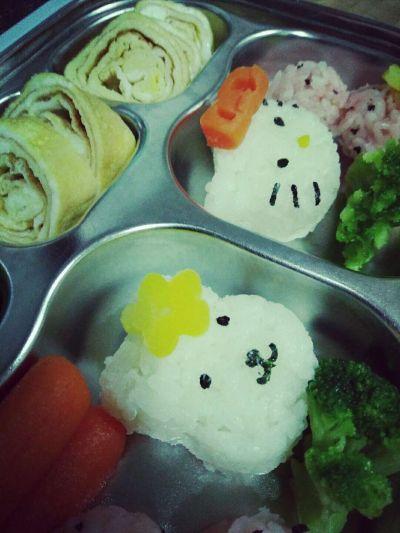 日本 Arnest - Hello Kitty 米飯海苔模具組 by 豬小瑞