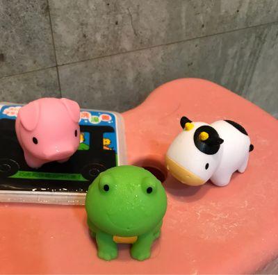 美國 munchkin - 動物農場噴水洗澡玩具8入 by 朱小俐