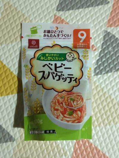 日本hakubaku - 9個月寶貝義大利麵-100g by Ariel Tsai