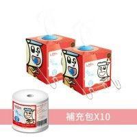 Leshi 樂適 - 嬰兒乾濕兩用布巾-乾濕兩用布巾禮盒 (400抽) by Yu Chiung Chen
