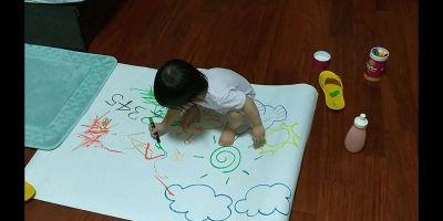 西班牙 Joan Miro - 西班牙兒童絲滑蠟筆-24色 by Hsin-Yi Lin