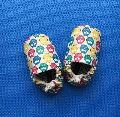 英國 Poconido - 寶寶手工鞋-小雪人 by odile