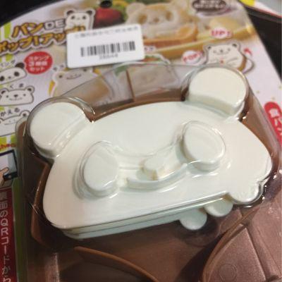 日本 Arnest - 立體熊貓吐司三明治模具 by Betsy Jiang