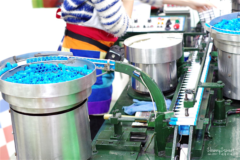 蠟藝彩繪館體驗製作彩色筆機械化