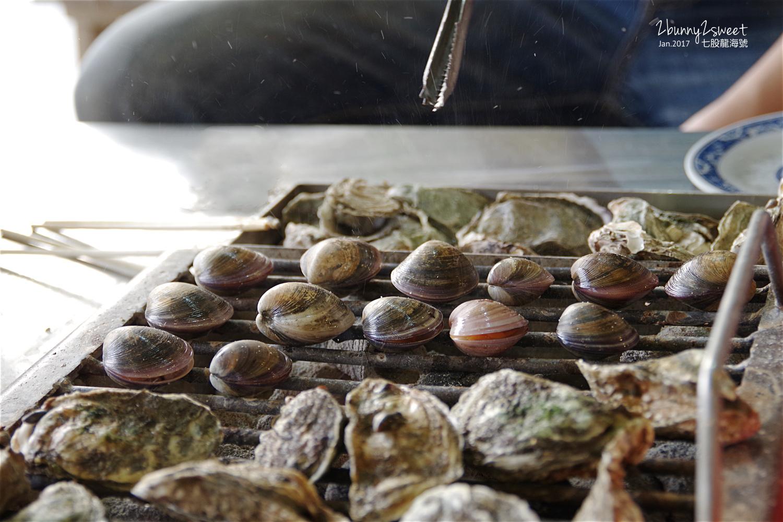 七股龍海號烤蚵放題蚵仔吃到飽紫環貝