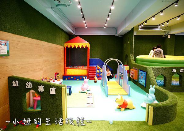 大房子親子成長空間新竹親子餐廳海盜船區幼幼專區