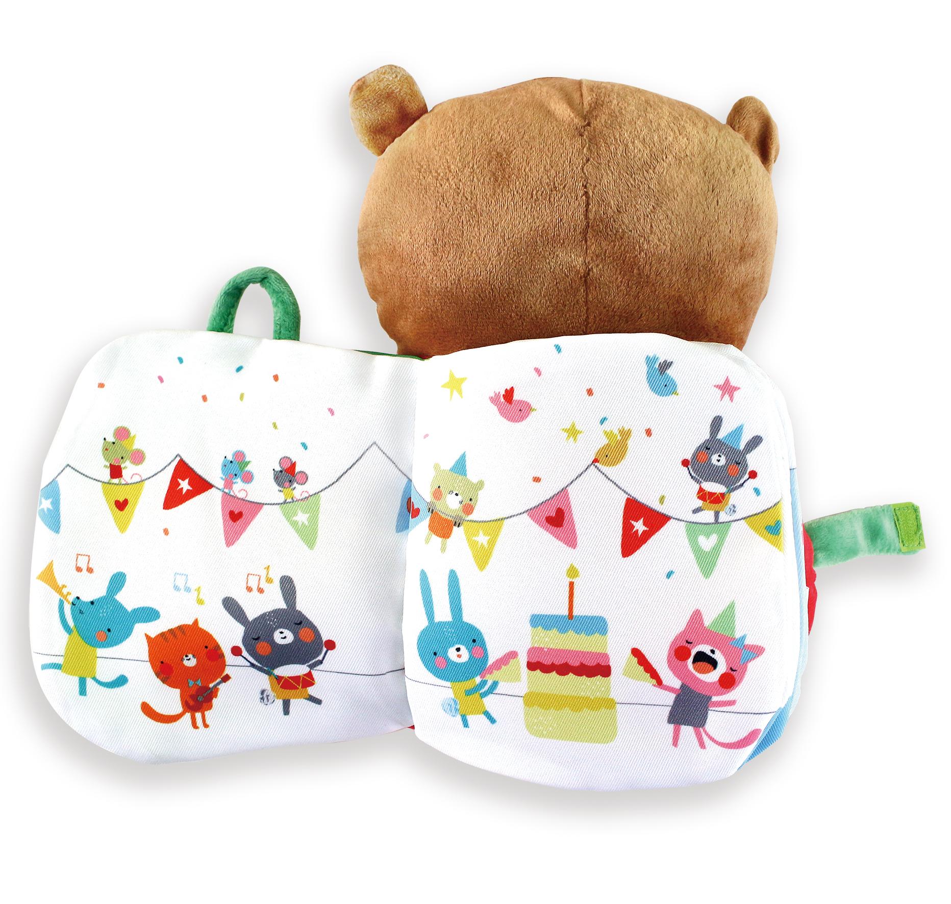 小熊熊-寶寶絨毛抱抱書