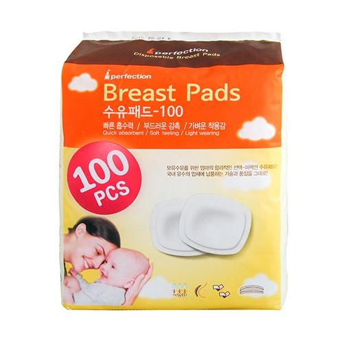 韓國 Perfection 拋棄式溢乳墊/防溢襯墊-韓國製造 原裝進口-100入裝