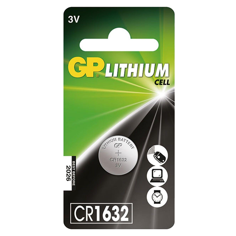 GP超霸 - 鈕扣鋰電池CR1632-1入 (日本) (19.5x2x0.5)