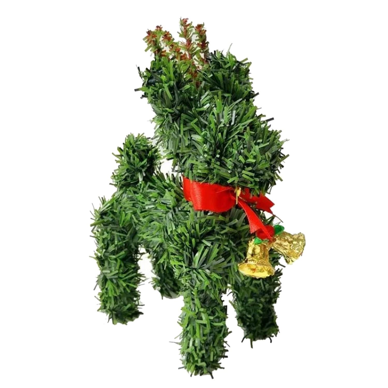 超萌桌上型迷你6吋聖誕小鹿擺飾