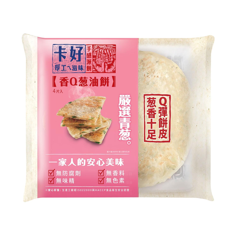 桂冠 - 卡好蔥油餅-110g/片;4片/包
