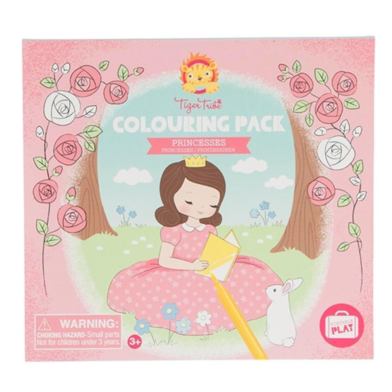 輕巧著色盒-粉紅公主