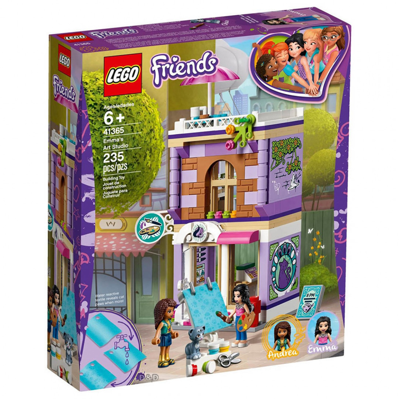 樂高 LEGO - 樂高 Friends 姊妹淘系列 - 艾瑪的藝術工作室 41365-235pcs