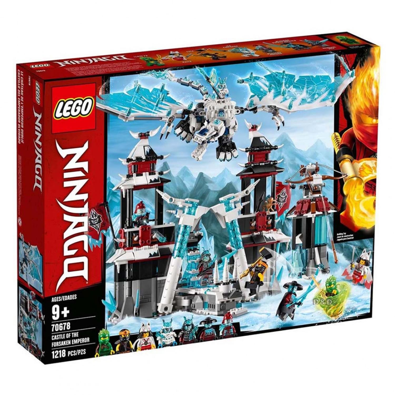 樂高 LEGO - 樂高 NINJAGO 旋風忍者系列 - 遺落的帝王城堡 70678-1218pcs