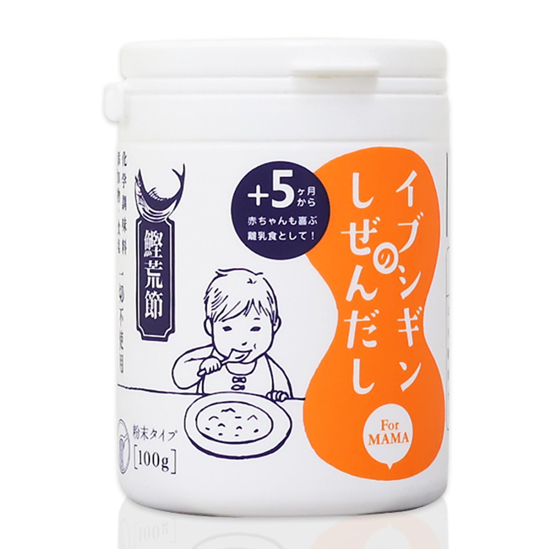 無食鹽昆布柴魚粉 調味粉末100g(罐裝)-100g/罐