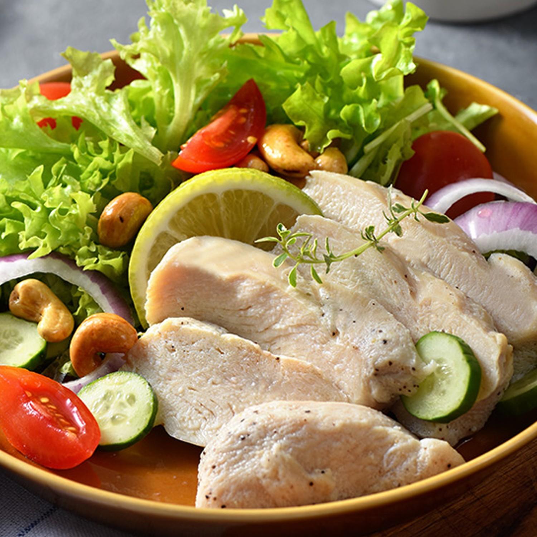 卜蜂 - 歐式清蒜雞胸肉(220g/包,2片/包)