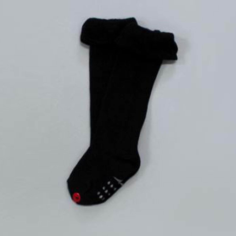 韓國製及膝襪-單件-Fly up Ver_黑色 (XS [11cm以下])