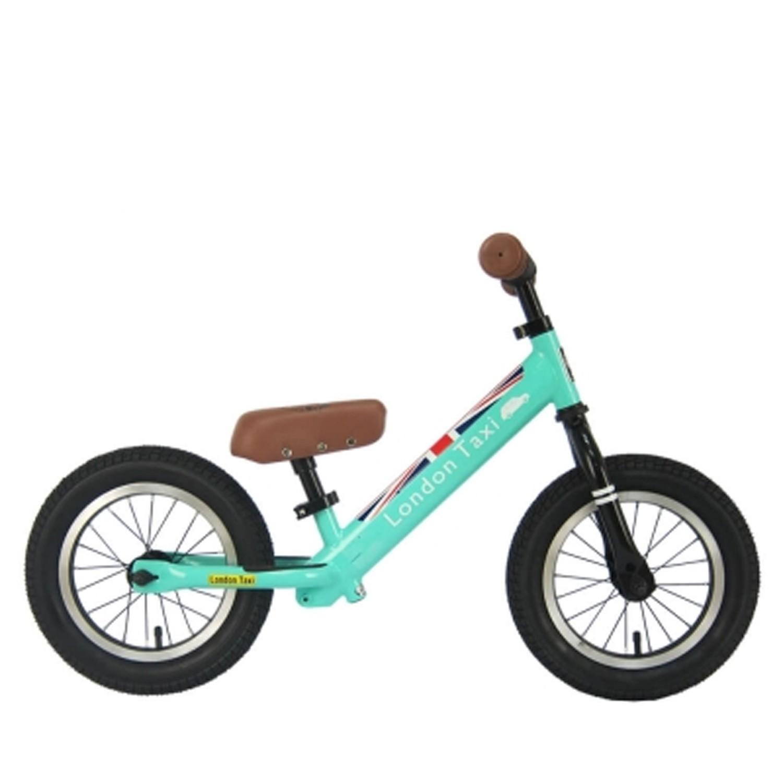 專業充氣胎幼兒平衡滑步車-馬卡龍綠-【獨家送】法國ebulobo小熊寶寶背包-團購專案