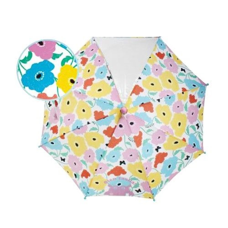 小童單片透明直傘-繽紛花園 (40cm(身高:95-105cm))