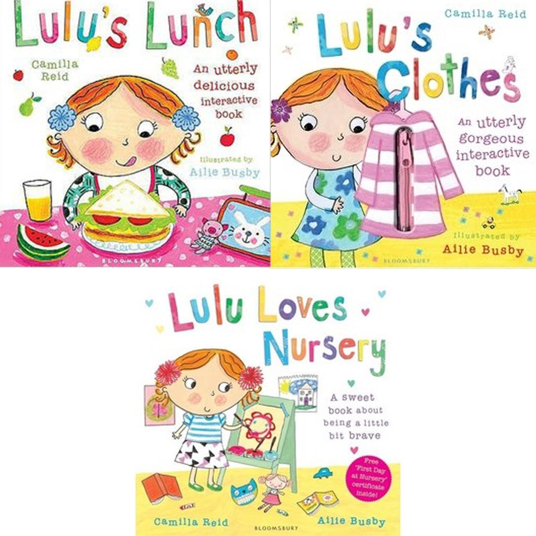 【露露操作書3本合購】-露露穿衣服+露露的午餐+露露上幼兒園