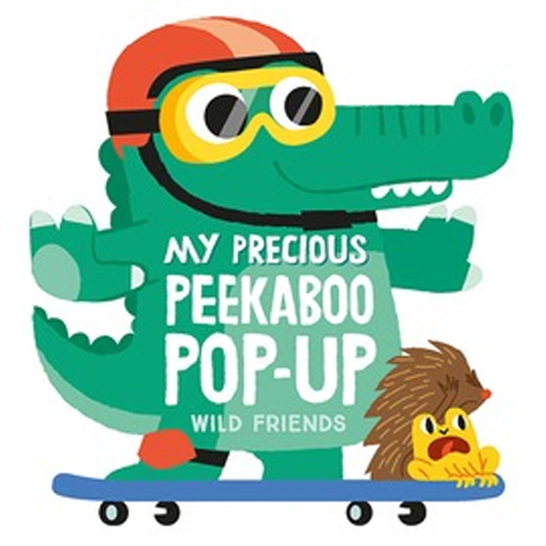 My Precious Peekaboo Pop Up: Wild Friends 我的叢林好朋友(立體書)