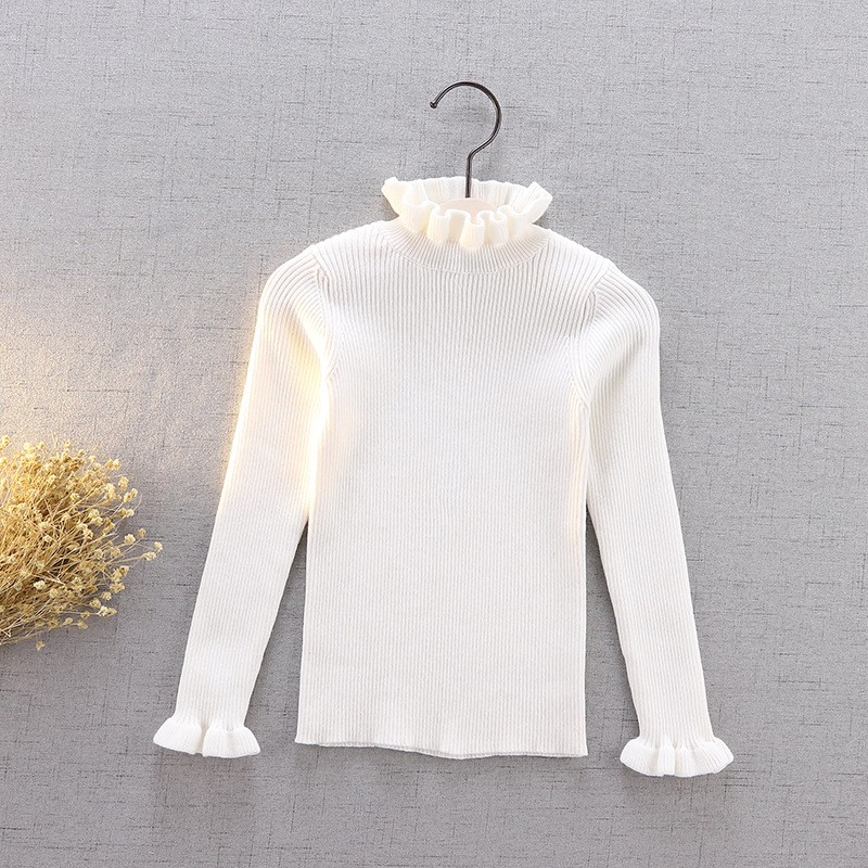 手工套頭針織衫-白色 (100cm)