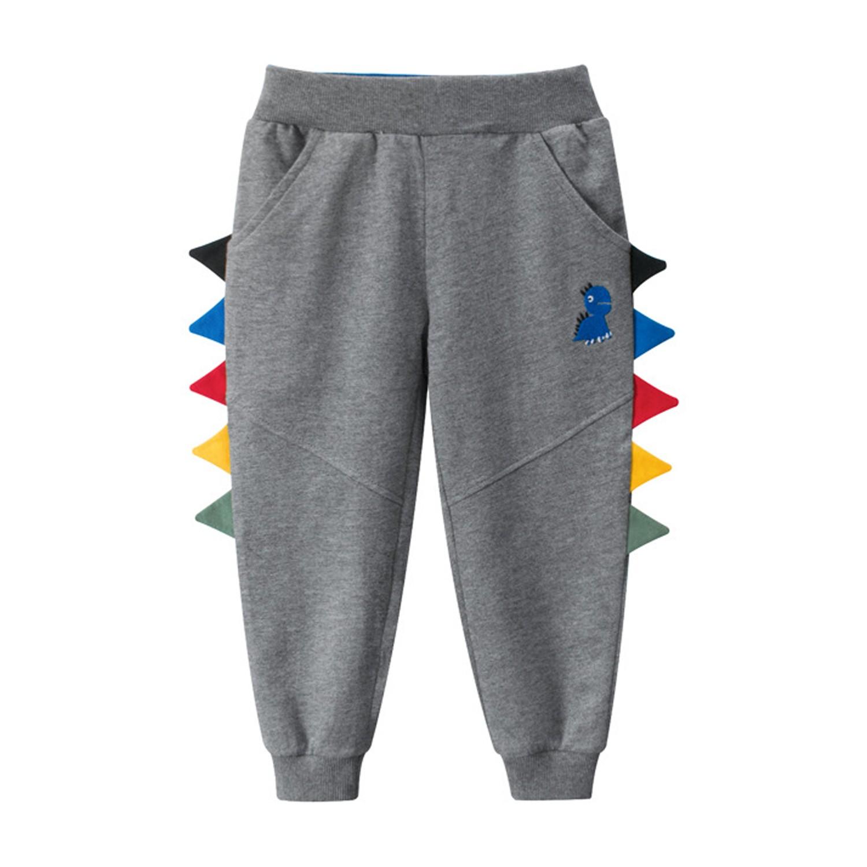 恐龍運動褲-碳灰 (90cm)