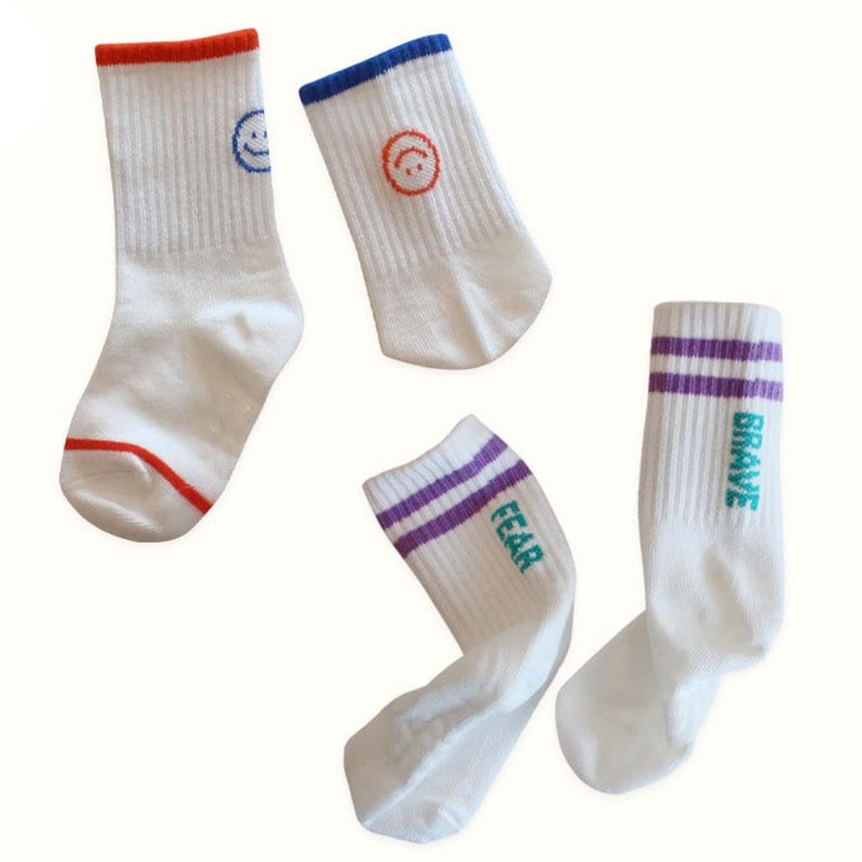 韓國製踝襪-兩件組-Super Star (S [13~15cm])
