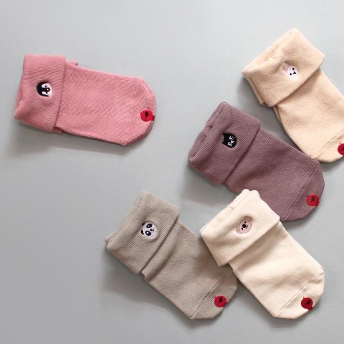 韓國製踝襪-五件組-Tiny baby (XS [11cm以下])