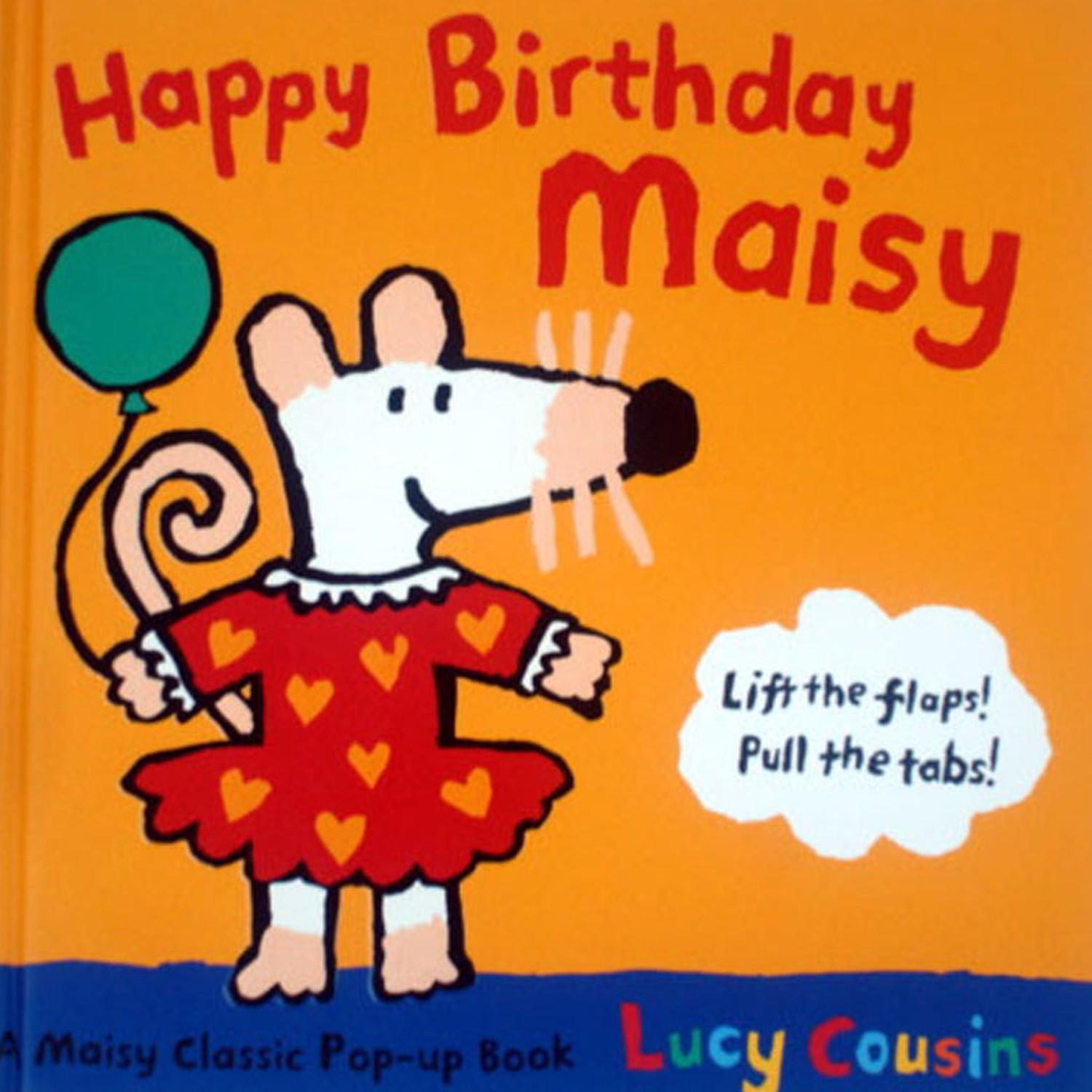 HAPPY BIRTHDAY MAISY-操作書-彩色 (19.5×19.5cm)