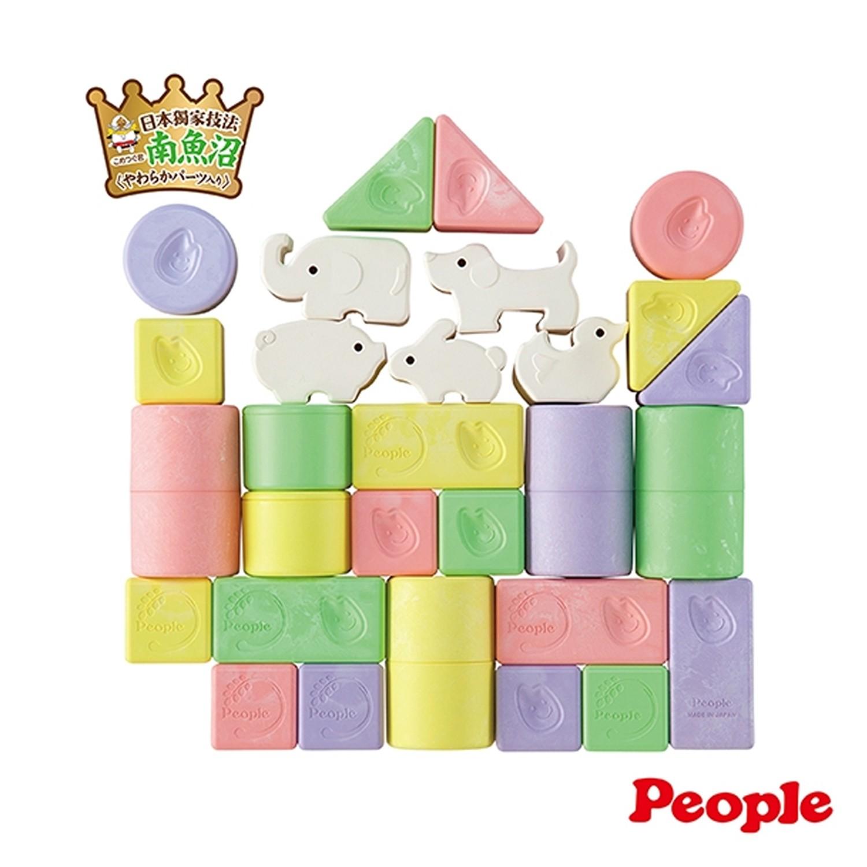 彩色米的動物積木組合(米製品玩具系列)-0m+