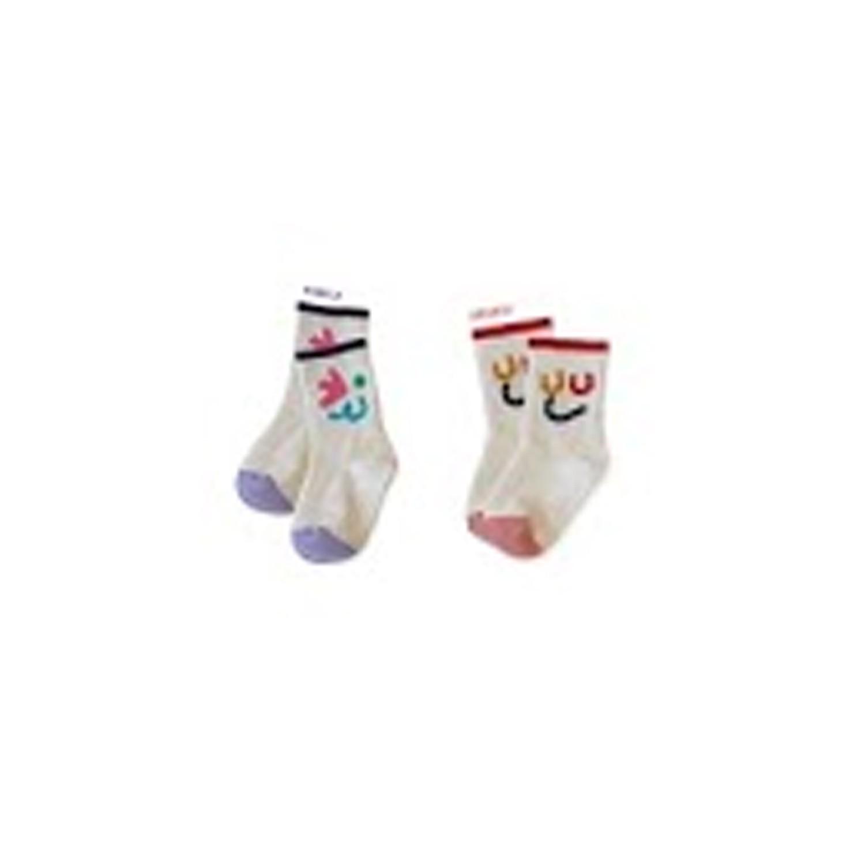 韓國製踝襪-二件組-Wink Wink (S [13~15cm])
