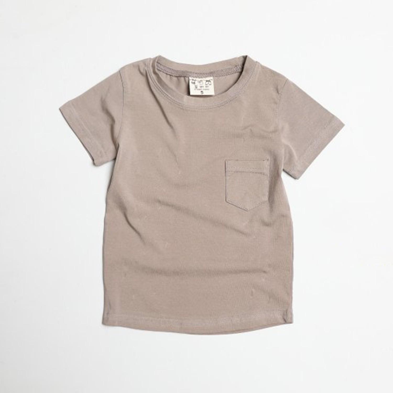 水洗加工布口袋T-摩卡 (5[~93cm])