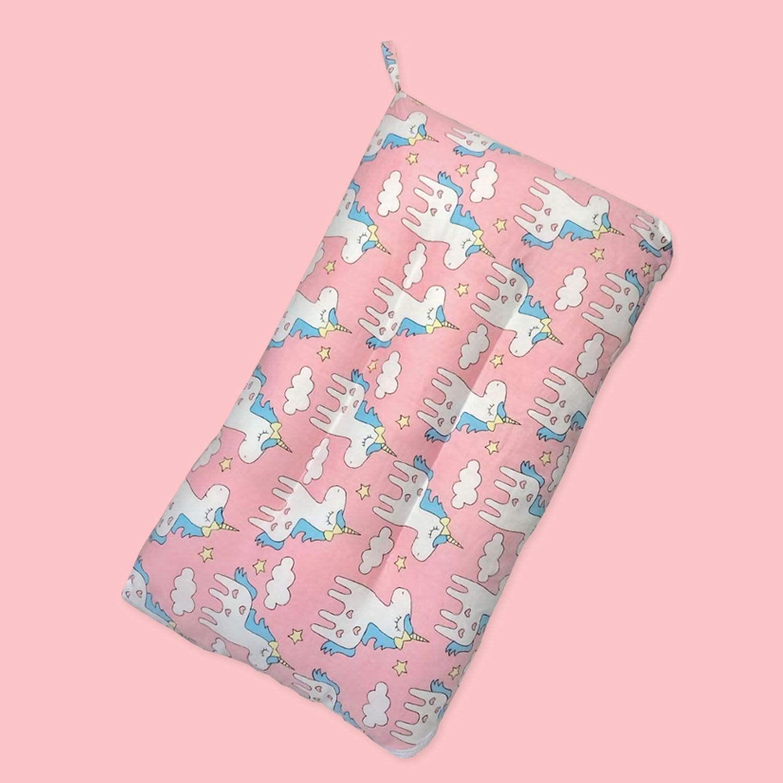純棉可水洗抑菌兒童枕-獨角獸 (30x50cm)-1入