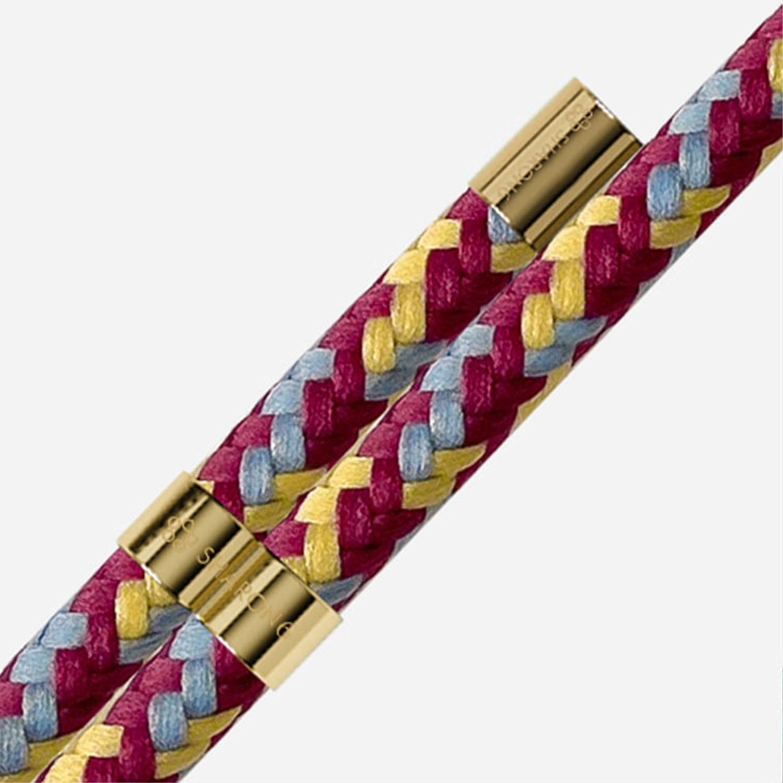 手機殼編繩-burgundy mix